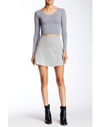 American Apparel - Hyperion Skirt - Lyst