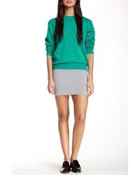 American Apparel - Ponte Mini Skirt - Lyst