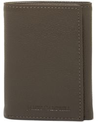 James Campbell - Trifold Leather Wallet - Lyst