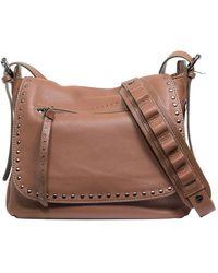 Sanctuary - Leather City Saddle Flap Shoulder Bag - Lyst