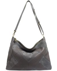 Sanctuary - Leather & Suede Modern Patchwork Crossbody - Lyst