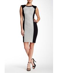 NYDJ - Willa Ponte Sheath Dress - Lyst