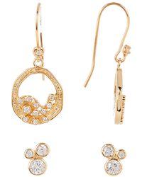 Melinda Maria - Emma Baby Cluster Earrings Set - Lyst