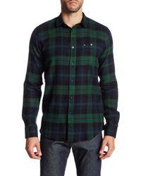 Weekend Offender - Alphin Long Sleeve Plaid Shirt - Lyst
