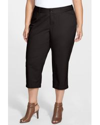 Sejour - 'addison' Stretch Crop Trousers - Lyst
