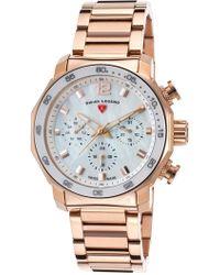 Swiss Legend - Women's Blue Geneve Multi-function Sport Bracelet Watch - Lyst