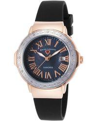 Swiss Legend - Women's South Beach Diamond & Mother Of Pearl Watch - 0.096 Ctw - Lyst