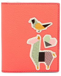 Fossil - Rfid Embroidered Passport Case - Lyst