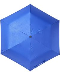 Steve Madden - Solid Snakeskin Folding Umbrella - Lyst
