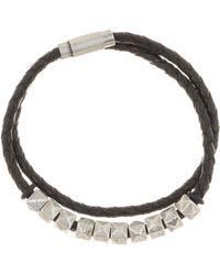 Steve Madden - Double Wrap Bracelet - Lyst