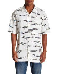 Jack O'neill - Lures Short Sleeve Regular Fit Shirt - Lyst