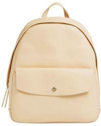 Skagen - Aften Leather Backpack - Lyst