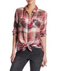 Jag Jeans - Lara Button Up Shirt - Lyst