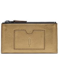 Thacker NYC - Nico Double Zip Wallet - Lyst
