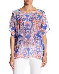 Sienna Rose | Printed Kimono Blouse | Lyst