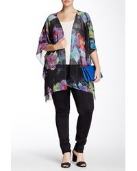 Sienna Rose - Printed Cover-up (plus Size) - Lyst