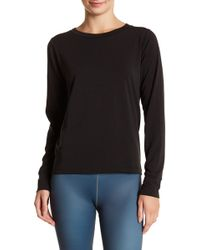 Vie Active - Tiffany Long Sleeve Cutout Shirt - Lyst