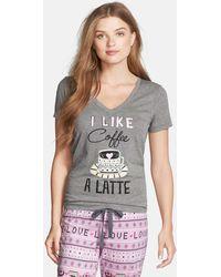 Cozy Zoe - Cotton Blend Jersey Tee - Lyst