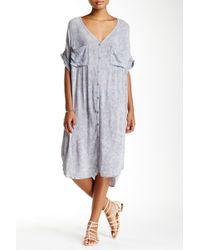Scrapbook   Short Sleeve Pocket Shirt Dress   Lyst