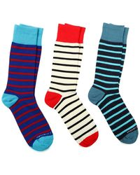 Unsimply Stitched - Combo Sock - Pack Of 3 - Lyst
