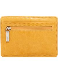 Hobo - Euro Leather Card Case - Lyst