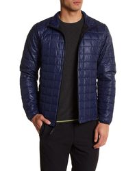 Revo - Quilted Zip Jacket - Lyst