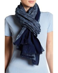 Liebeskind Berlin - Printed Woven Scarf - Lyst