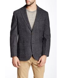Kroon - Fray Notch Lapel Two Button Blazer - Lyst