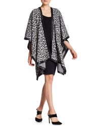 Grayse - Cheetah Cape - Lyst