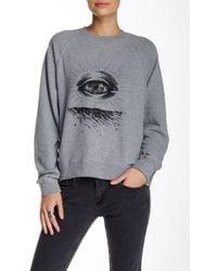 RVCA - Eye See Sweatshirt - Lyst