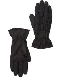 Joe Fresh - Ruched Faux Fur Lined Glove - Lyst