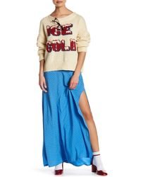 Wildfox - Diamond Slit Skirt - Lyst