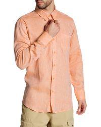 Michael's Swimwear - Long Sleeve Linen Shirt - Lyst