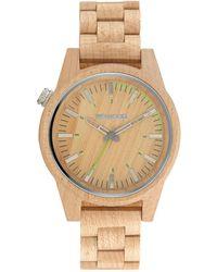 WeWood - Paar 46 Beige Women's Wood Watch - Lyst