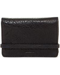AllSaints - Paradise Leather Card Case - Lyst