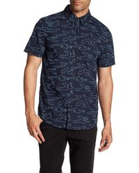 Daniel Won - Jay Short Sleeve Button-up Shirt - Lyst