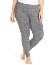 Hard Tail - Roll Top Jersey Leggings (plus Size) - Lyst
