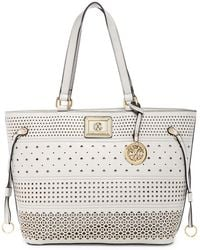 CXL by Christian Lacroix - Renee Perforated Tote - Lyst
