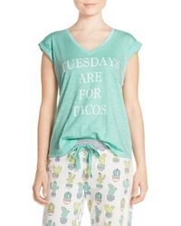 Cozy Zoe - 'tuesdays Are For Tacos' Graphic Tee - Lyst