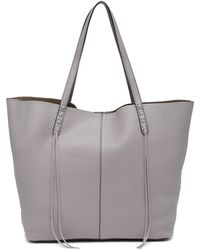 Rebecca Minkoff - Medium Unlined Leather Tote & Pouch - Lyst