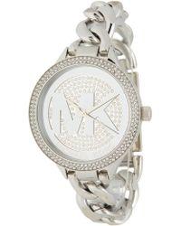 MICHAEL Michael Kors - Slim Runway Bracelet Watch, 38mm - Lyst