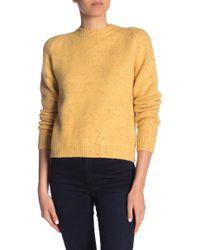 Paul & Joe - Melange Knit Sweater - Lyst