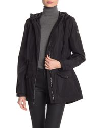 MICHAEL Michael Kors - Missy Taping Zip Front Jacket - Lyst