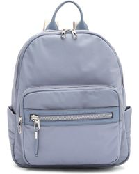 Vince Camuto - Acton Leather Trimmed Nylon Backpack - Lyst