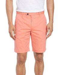 Ted Baker - Twopar Flat Front Shorts - Lyst