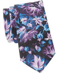 Original Penguin - Bathgate Floral Tie - Lyst