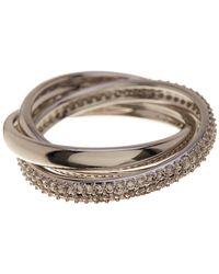 Nadri - Trinity Eternity Pave Cz Ring - Size 6 - Lyst