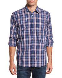 Jeremy Argyle Nyc - Comfort Fit Plaid Sport Shirt - Lyst