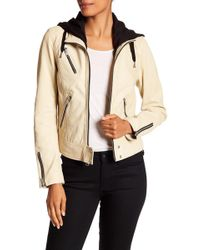 Marc New York - Winona Leather Jacket - Lyst