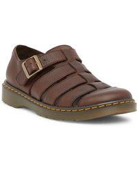 Dr. Martens - Fenton Fisherman Leather Sandal - Lyst